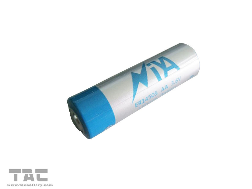 3.6V ER14505 AA  LiSOCl2 Battery with Wide Temperature Range for Medical Instruments
