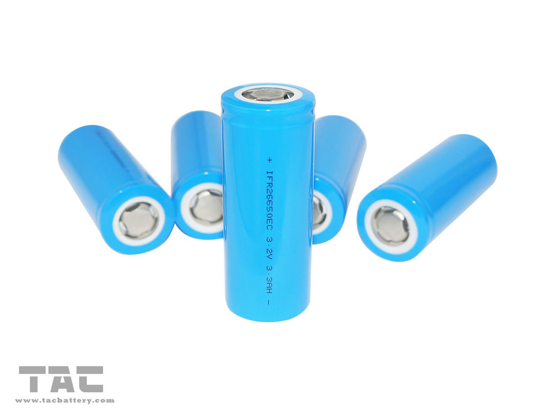 26650 3.2V LiFePO4 Battery 3200mAh High Rate 3C  Energy Type For Scooter