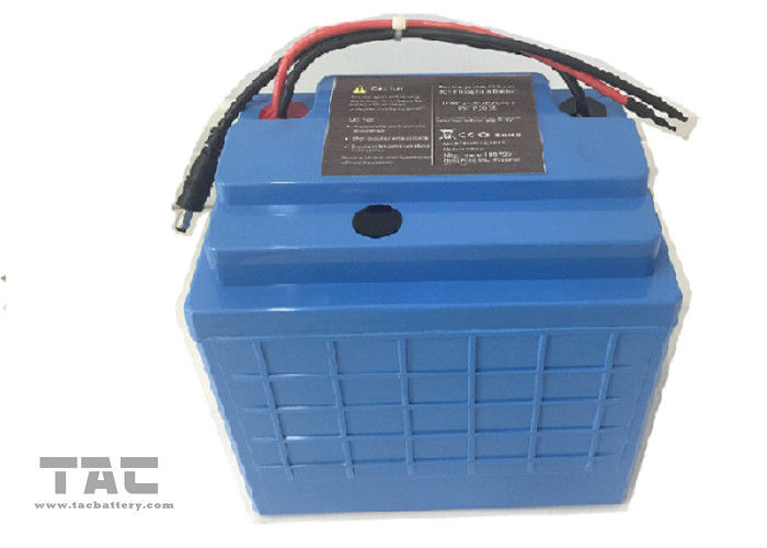 PVC Housing 12V LiFePO4 Battery Pack 26650 36ah For Electrical Bike
