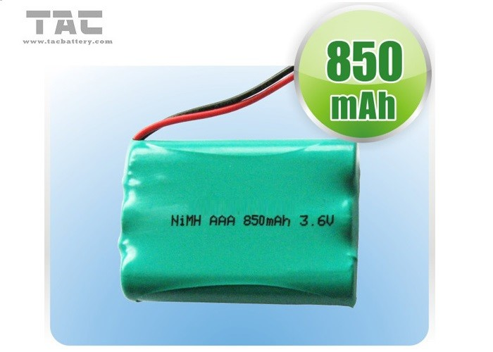 3.6V Ni MH Batteries for Cellular phones Notebook PC's Green Power