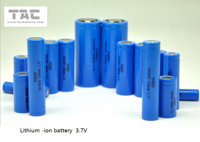 Rechargeable LiFePO4 Battery Cell IFR 12440 300mAh 3.2V High Power For Electrical